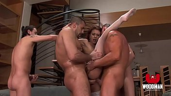 crimson haired tart gets a mass ejaculation and.