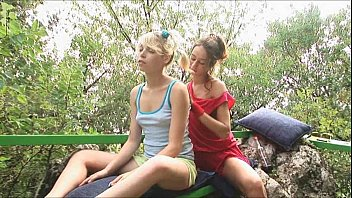 lezzie teens inforest tugging