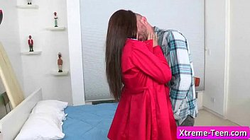 nubile youthfull unexperienced gal blow prick like a.