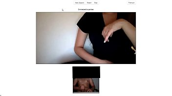 chatroulette - enormous breasts doll gets naughty by.