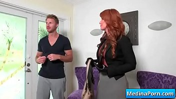 marvelous cougar likes gigantic dude-meat in her raw.