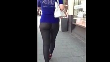 outstanding candid flick chick in taut backside yoga.