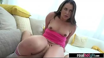 unexperienced steamy gf allie haze in bang-out activity.