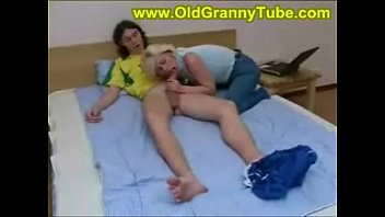 silver-blonde mommy and son-in-law