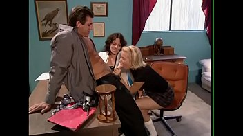 the physician helps her assistant get porked by.