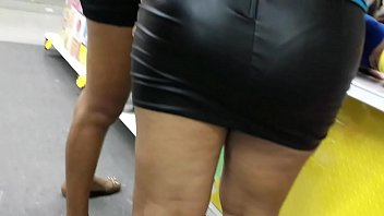 hunting 30 petite leather microskirt - cazando 30.