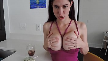 dame plays with ample udders - more vids.
