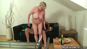 wood-thirsty mummy in law tempts him