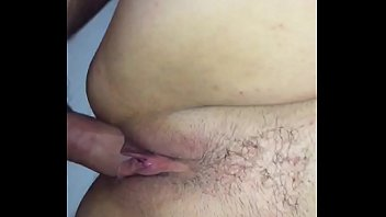 fledgling wifey with wooly fuckbox creampied