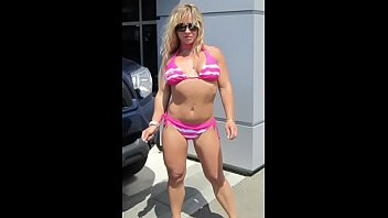 chantel spurts cut-offs at orbs truck wash to.