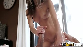 nubile sweetie gets analized