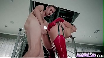 anal penetration intercorse with yam-sized butt well-lubed sluty.