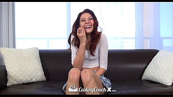 castingcouch-x - red-haired ashlynn molloy with lengthy gams.