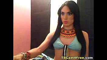 supah-boinking-hot tranny strokes off on webcam