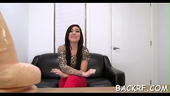 lascivious vixen bonks at a casting to demonstrate.