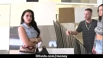 first-ever-timer girl takes currency for a.