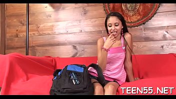 milky teenager mega-bitch gets violently pummeled by two.