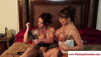 brandi mae and ava devine have fun with fucktoys