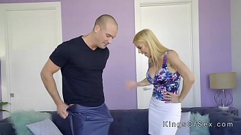 meaty titties stepmother helps nubile with.