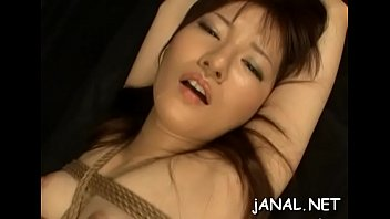 enchanting fledgling japanese angels in severe anal intrusion.