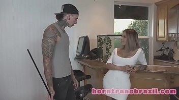 my transsexual stepmother - giant funbags t-girl ravages.