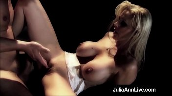 cougar princess julia ann gets rump-drill penetrated on stage