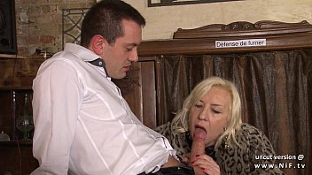 nasty french mature firm buggered in a pub.