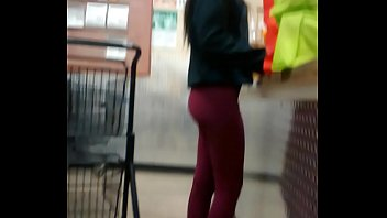 omg teenager booty stretched pants rosy trio panty.