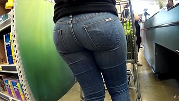 cock-squashing jeans