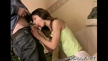 fresh teenager is having casual romp with a.