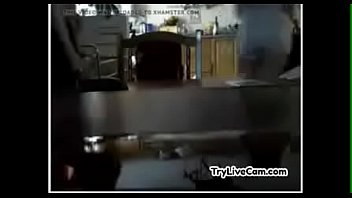 wifey drills slot on her live web cam.